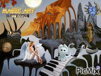 MAGIC ART Magic Art, Greece, Moose Art, Digital Art, Backgrounds, Painting, Animals, Fantasy, Greece Country