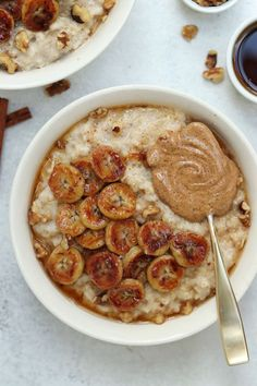 Caramelized Banana Oatmeal (Vegan & GF) | Eat With Clarity