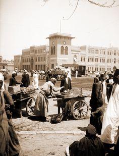 Rail station, Ramses square, circa 1930's