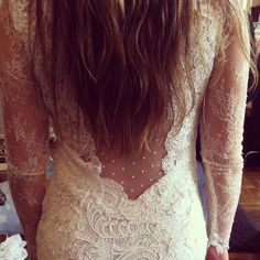 Lace back. Lethicia Bronstein.