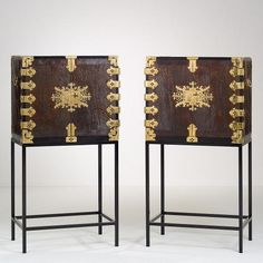 Two Japanese Cabinets, ca. 1650-1700