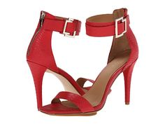Calvin Klein Calvin Klein  Sable Lacquer Baby Python Womens Dress Sandals for 74.99 at Im in!
