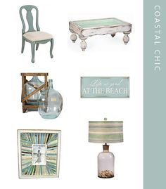 What beautiful coastal chic pieces for your #CarolinaBeach home