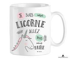 Impressionne nous - Mug Licorne