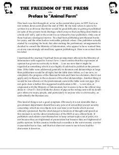 Please help with essay! Easy question! Animal farm?