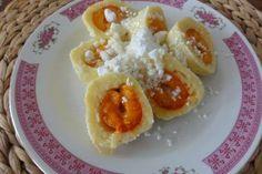 Jak uvařit meruňkové knedlíky z odpalovaného těsta   recept Eggs, Breakfast, Morning Coffee, Egg, Egg As Food