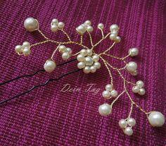 Braut-Haarschmuck  von Dein Tag - Brauthaarschmuck &  Brautaccessoires  auf DaWanda.com