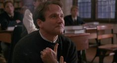 """Carpe diem. Seize the day, boys. Make your lives extraordinary."" John Keating (Robin Williams) - Dead Poets Society, 1989"