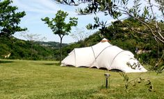 This is how camping should be..........at Agricamp Picobello