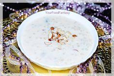 sabudana kheer recipe at your food fantasy by meenu gupta