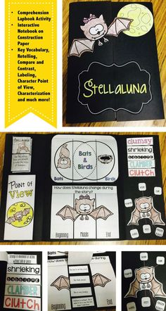 Do you read the story Stellaluna in the fall months? Does your class complete a bat until at the beginning of the year? This interactive lapbook or interactive notebook activity is just what you need to make sure that your students have mastered multiple