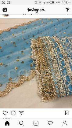 Colour for uppada saree blouse Zardosi Embroidery, Embroidery Suits, Embroidery Fashion, Beaded Embroidery, Embroidery Designs, Pakistani Wedding Outfits, Pakistani Dresses, Indian Dresses, Saree Tassels Designs