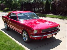 1965 Ford Mustang - top 10 colors red