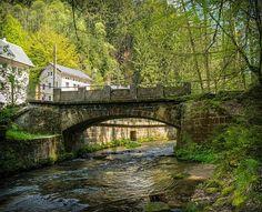 Bridge, River, Stone Bridge