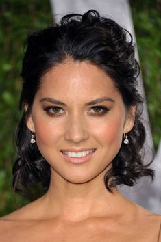 Wedding makeup inspiration! Olivia Munn Oscars makeup