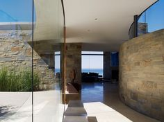 The contemporary Otter Cove residence in Carmel, California