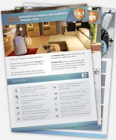 "Diseño de folletería para la fimra ""Hexacom"" www.estudiodarma.com"