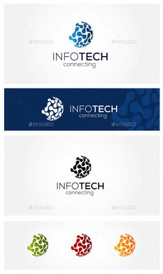 Connect Technology Logo Design Template Vector #logotype Download it here: http://graphicriver.net/item/connect-technology/11615026?s_rank=765?ref=nexion