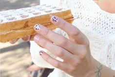 Une touche de rose: blog mode, DIY, cuisine, beauté: Les ongles léopard :: DIY