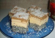 Penészke | NOSALTY Poppy Cake, Hungarian Recipes, Hungarian Food, Sweet Desserts, Tiramisu, Sweets, Ethnic Recipes, Minden, Sweet Stuff