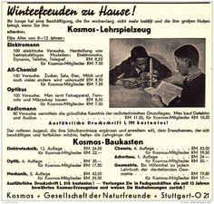 Original-Werbung/ Anzeige 1930 er Jahre - LEHRSPIELZEUG - KOSMOS / FRANCKH - STUTTGART - ca. 140 x 130 mm