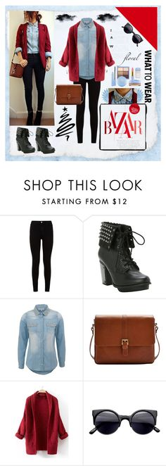 """""""Untitled #126"""" by jowy2 ❤ liked on Polyvore featuring 7 For All Mankind, Parisian and Joules"""
