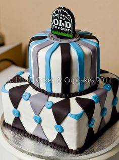 Created by: Lit'l D Cakes & Cupcakes Over the hill birthday cake
