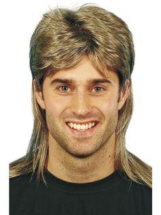 80-tals mens peruk