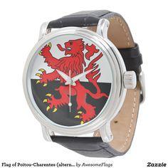 Flag of Poitou-Charentes (alternative) Watches