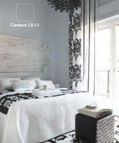 El color crema, gris, beige y blanco contribuyen a los sentimientos de pureza y bienestar. Son ideales para que tus ambientes siempre estén llenos de paz.