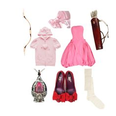 Madoka Kaname by pinkmitta on Polyvore featuring polyvore fashion style ASOS Puella