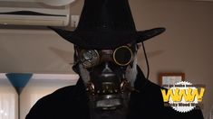 Post-Apocalyptic Steampunk Mask