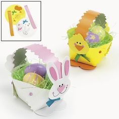 Baby Crafts: How To Easter Craft | Paper Easter Basket