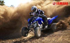 Yamaha ATV | HD Wall Shots