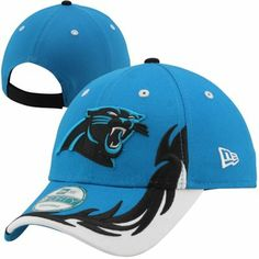 New Era Carolina Panthers Heat Seeker 9FORTY Adjustable Hat - Panther Blue  Black cc39e9c31