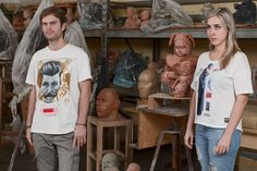 T Shirt #nuovoevo #clothes #fashion #allmadeinitaly #fashionart # italianproduct #modaitakiaba #conceptstore #collaboration #contemporaryitalianartists #moda #originalimages #print #painting