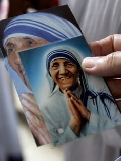 Mother Teresa - 1910 - 1997  MISSIONARIES OF CHARITY FOUNDER    In creating an order whose members tended to the orphaned, sick, and dying among the poorest of the poor in India and, eventually, worldwide, Mother Teresa, born Agnes Bojaxhiu in what is now Macedonia, inspired others as a model of service and extreme goodness.