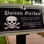 Life in the Poison Garden