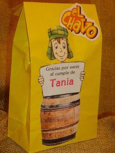 El Chavo del Ocho or La Chilindrina treat or goodie by HappyToons, $20.00