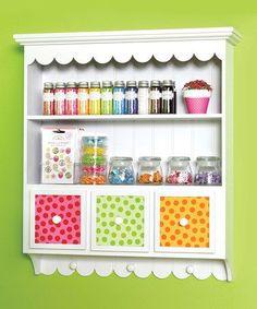 Dica de organização ;) #artesanato #decoração #organização