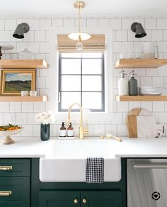 """7,282 Likes, 100 Comments - Studio McGee (@studiomcgee) on Instagram: """"When you're scrolling through Pinterest and find that @dominomag has named the #denvertudor kitchen…"""""""