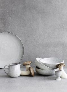 Broste Copenhagen Earthenware Nordic Sand Bowl Set of 2 - Trouva Ceramic Tableware, Ceramic Pottery, Kitchenware, Sweet Home, Broste Copenhagen, Modern Ceramics, Nordic Design, Design Design, Handmade Pottery