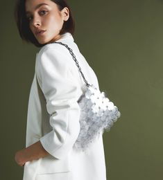 Tuesday style hack: Clean tailoring with a healthy dose of sequins thanks to Shop via the link in bio. Paco Rabanne, Top Designer Brands, Keep Your Cool, Modest Fashion, Tuesday, Fashion Online, Branding Design, Ruffle Blouse, Sequins
