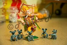 Wow!! Brilliant! quilled Ganesha by Praj's Quilling Creations
