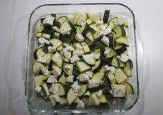 Italiaanse courgette-kip ovenschotel – Lekker&Gezond eten – kha Clean Recipes, Healthy Recipes, Scampi, Peanut Butter Cookies, Zucchini, Healthy Eating, Healthy Food, Wraps, Food And Drink