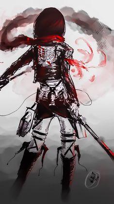 Zerochan anime image gallery for Attack on Titan (Shingeki No Kyojin), Mikasa Ackerman. Otaku Anime, Manga Anime, Anime Body, Anime Pokemon, Anime Art, Mikasa, Armin, Levi X Eren, Levi Ackerman