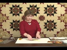 Deb Tucker's Tucker Trimmer for Making Perfect Hourglass Units
