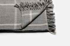 Our Aiayu Grey Check Alpaca throw. Available in-store. Go Master, Alpaca Throw, Scandinavian Design, It Is Finished, Textiles, Knitting, Rooms, Store, Grey