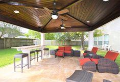 Amazing outdoor living space built by Backyard Retreats (281) 485-8483