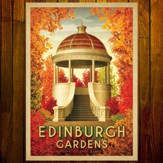 The Edinburgh Gardens in Fitzroy North, located in Melbourne's inner north, is one of the most stunning places to go and visit almost any time of the year. Also home to the Brunswick Street Oval, the long-gone Fitzroy Football Club's original home ground. Standard Postcard Size, Vintage Medical, All Poster, Travel Posters, Large Prints, Vintage Images, Vintage Prints, Edinburgh, Letterpress